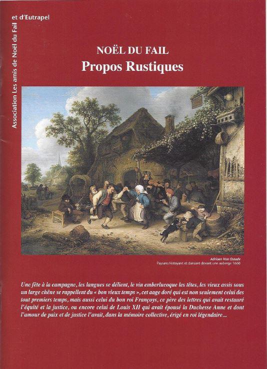 Brochure Propos rustiques