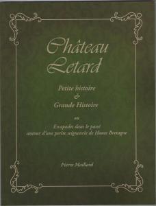 Château Letard Petite et Grande Histoire 1ère de couverture